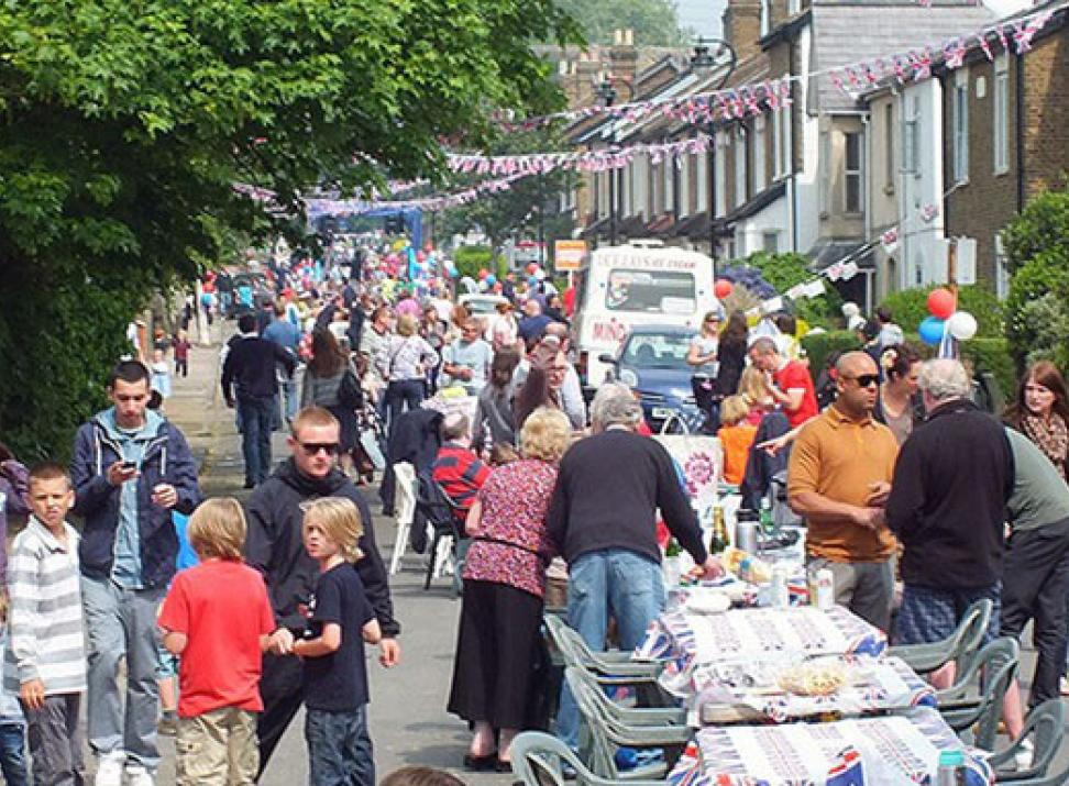 Hanwell Street Party
