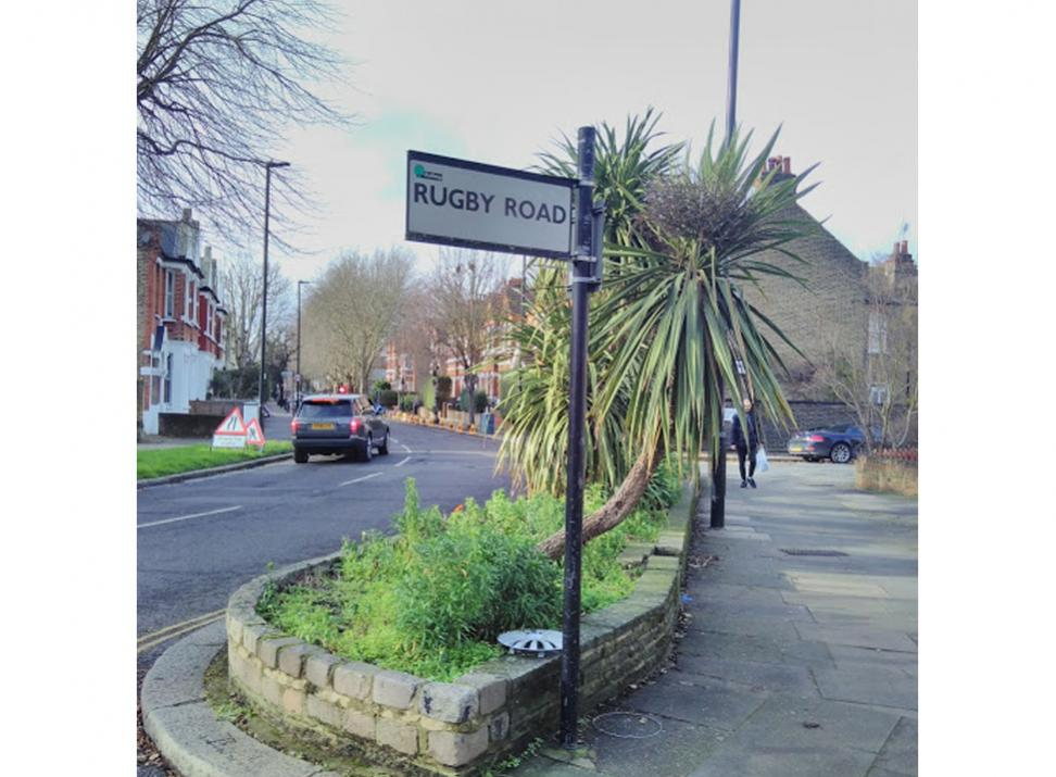 Rugby Road Southfield Road Flowerbeds W4