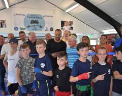 Young members of boxing club