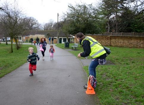 Acton junior parkrun - powered by people