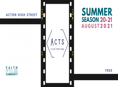 acts film festival event poster