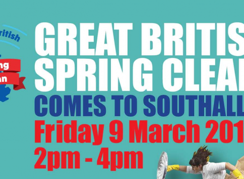 Great British Spring Clean Comes to Southall